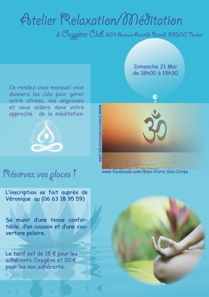 Méditation Mai - Salle Oxigène
